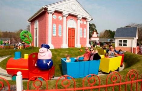Il treno del nonno, Peppa Pig World ©peppapigworld.co.uk