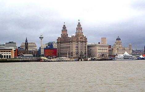 Liverpool, lo skyline