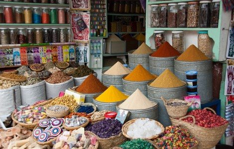 Marrakech, le spezie ©foto Feliciano Guimarães/Wikipedia