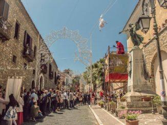 Volo dell'Angelo a Rutino - Foto Cilentitalia