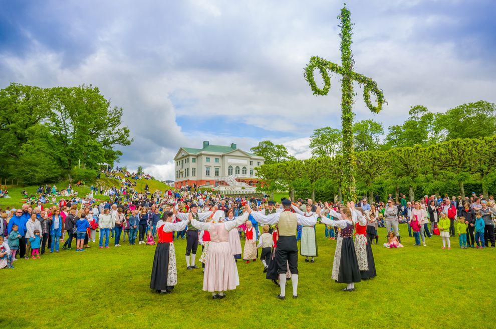 Festa di Mezza Estate, Midsummer, in Svezia