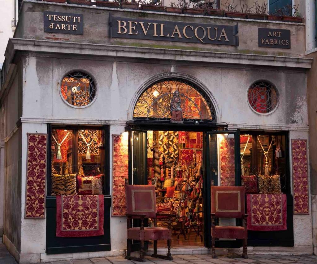 Bevilacqua Tessuti, Venezia