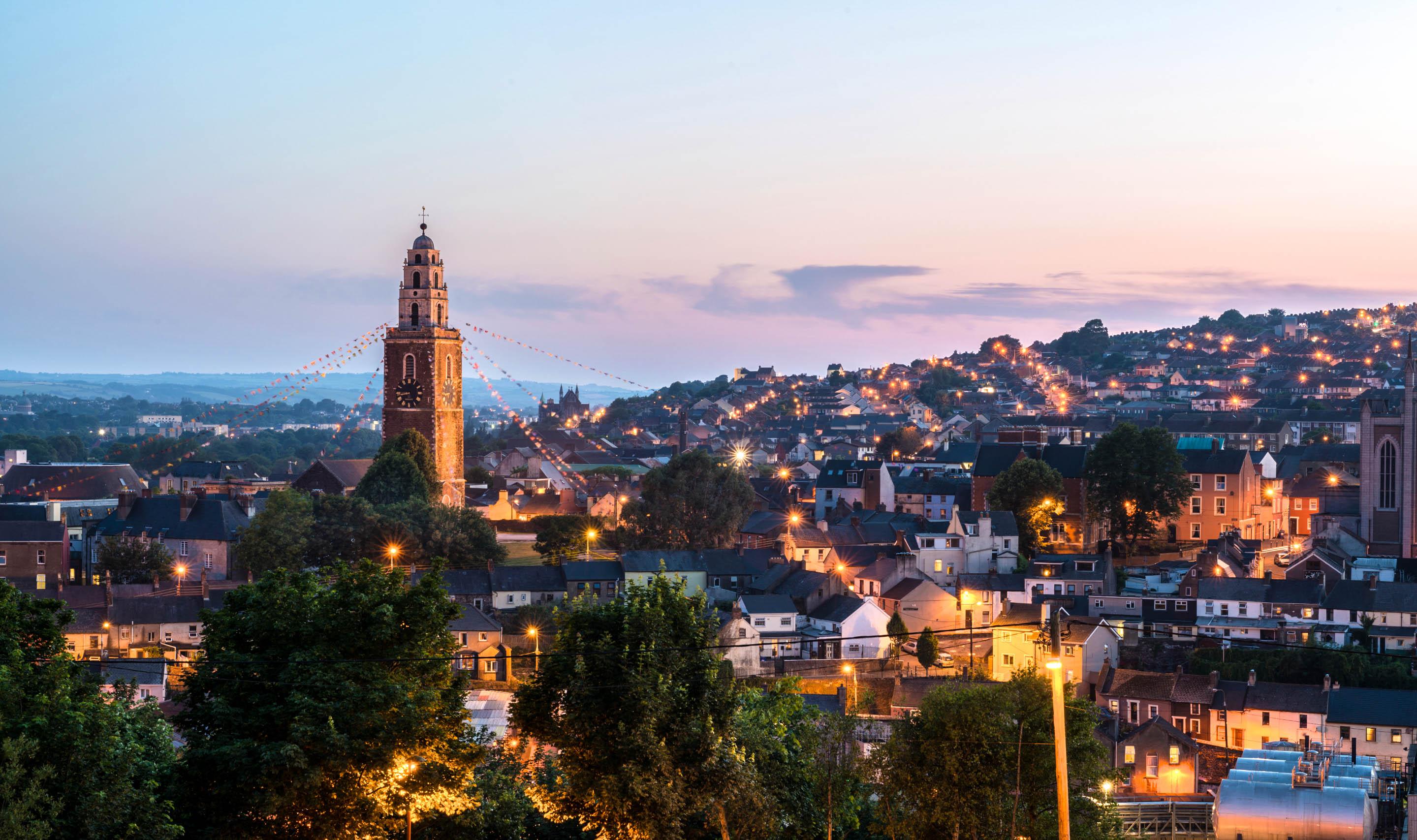 Veduta di Cork, Irlanda