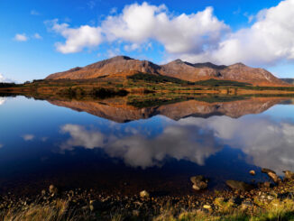 Diamond Hill in Connemara National Park, Irlanda