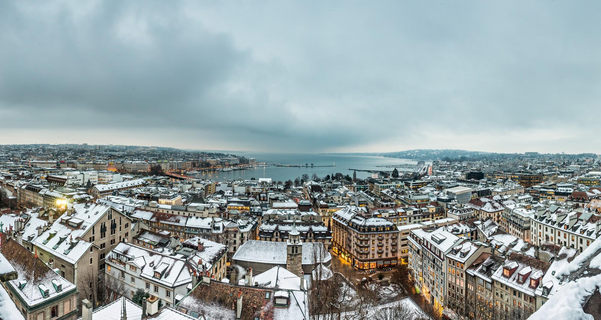 Ginevra in inverno - Foto ©Switzerland Tourism - swiss-image.ch/Jan Geerk