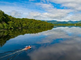 Lago Loch Lomond, Scozia