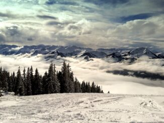 Montagne di Kitzbuhel, Austria
