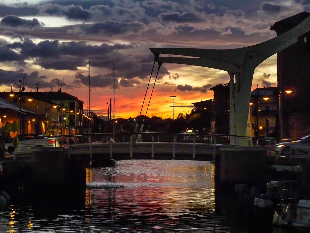 Ponte delle Paratorie di Cervia -Foto Mapio.net