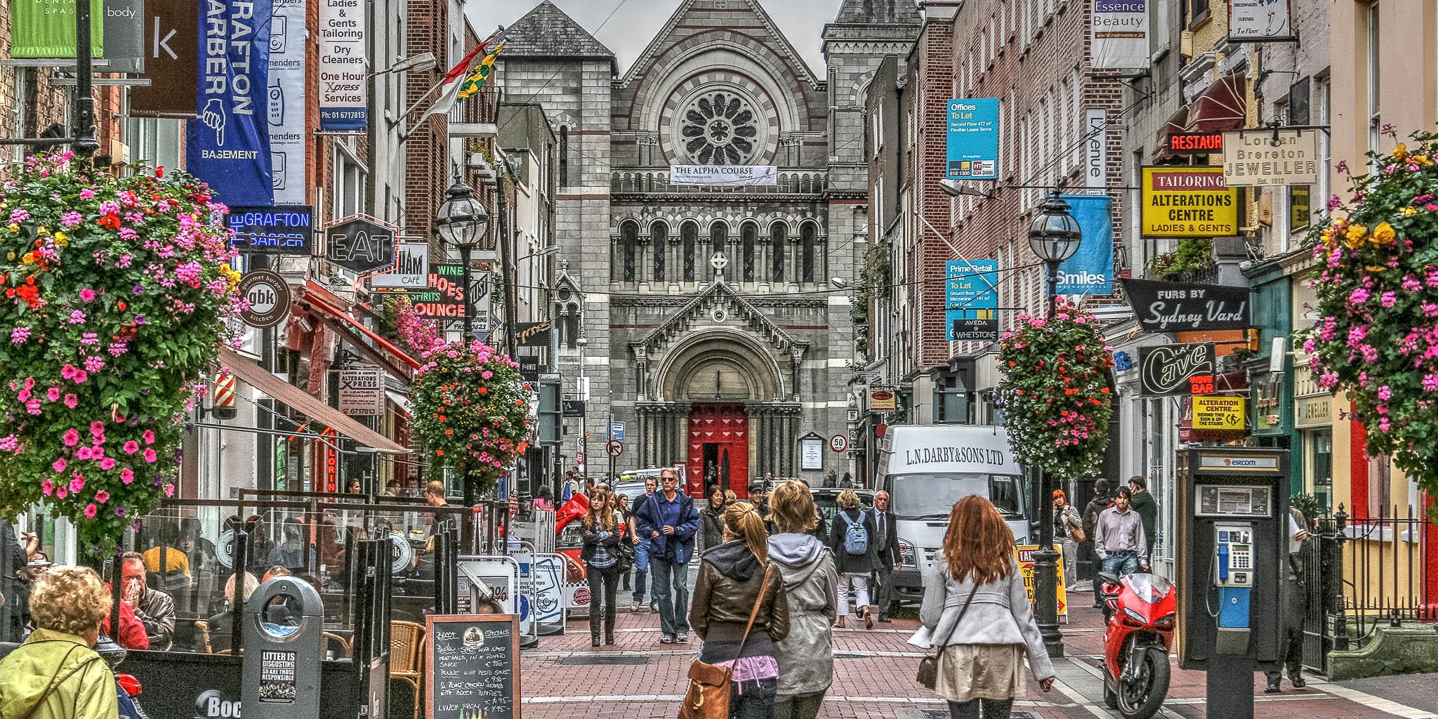 Shopping in IrlandaShopping in Irlanda