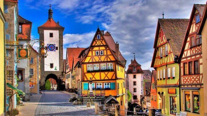 Strada romantica in Germania