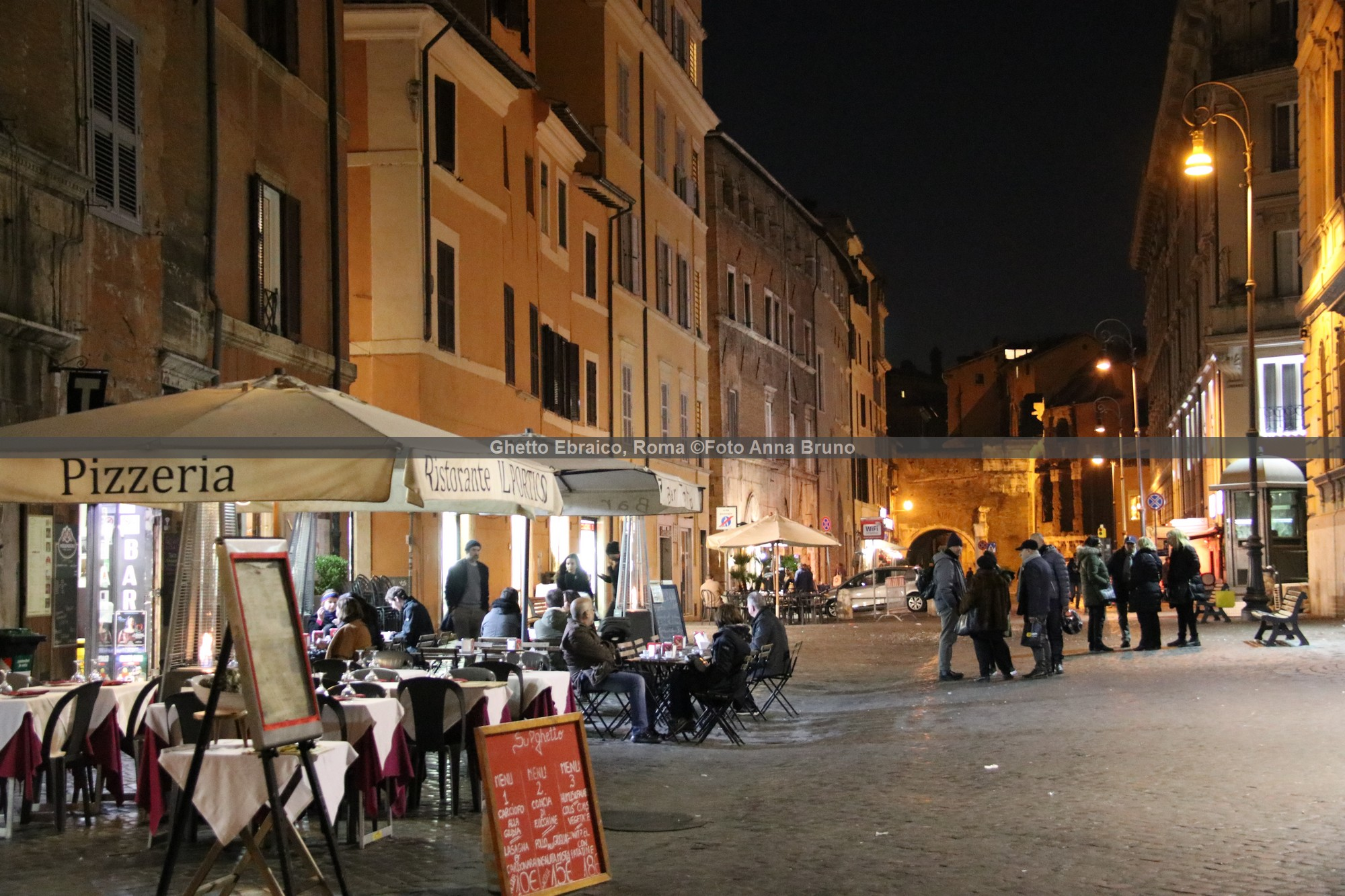 Ghetto Ebraico, Roma ©Foto Anna Bruno