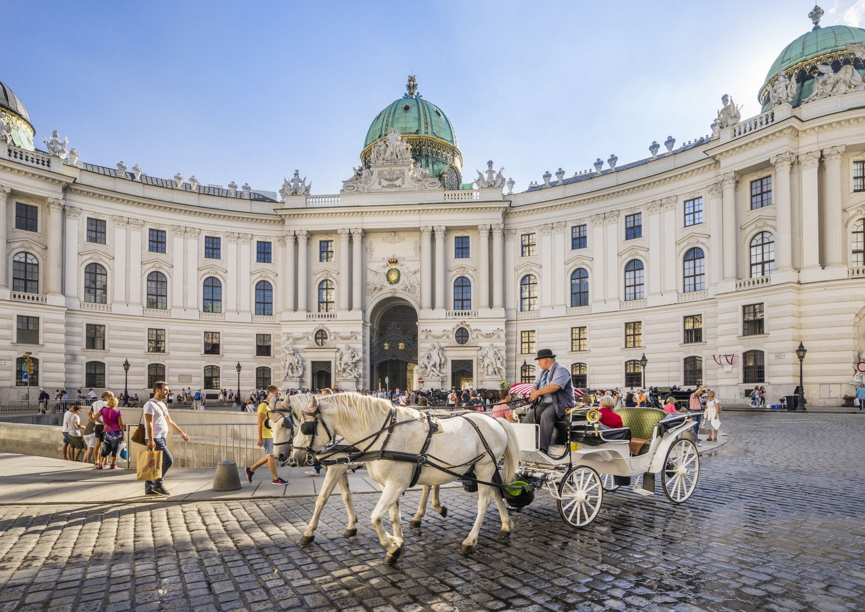 Hofburg Palace, Michaelerplatz - Vienna