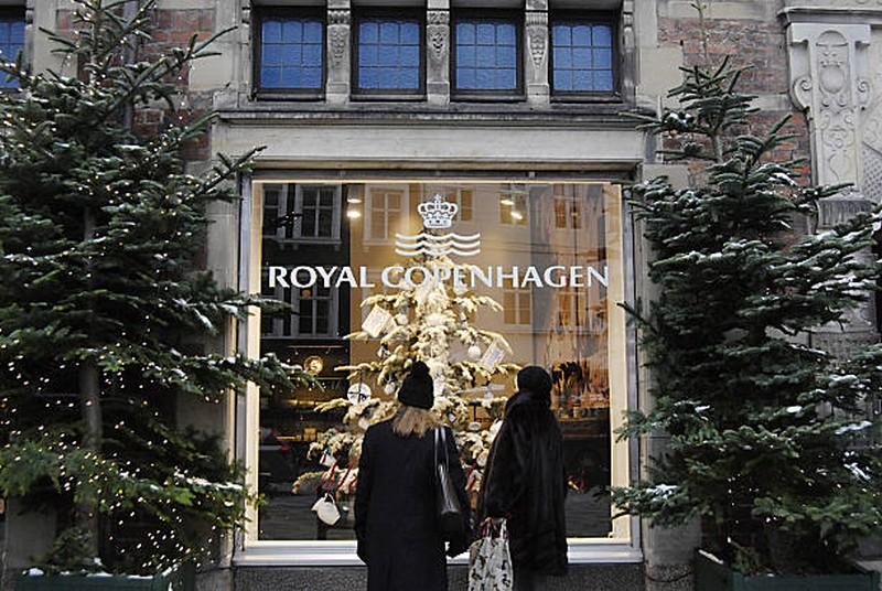 Royal Copenaghen, shopping