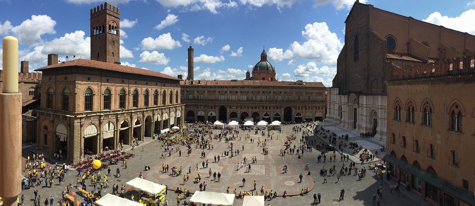 Piazza Maggiore, Bologna - Foto Strabologna