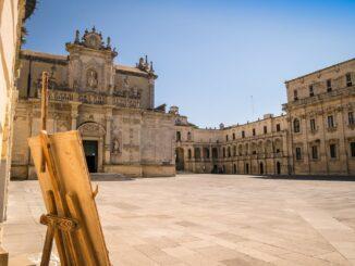 Piazza Duomo a Lecce