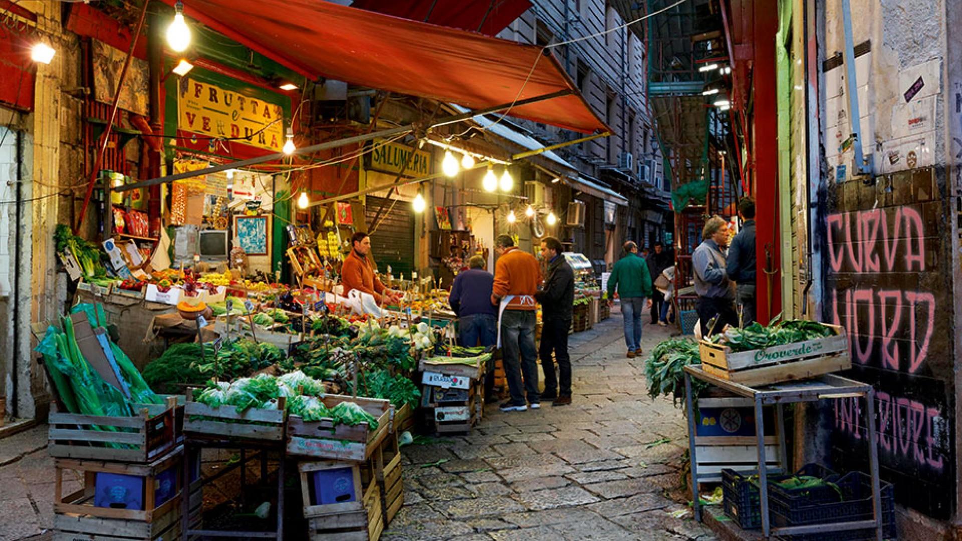 Mercato della Vucciria a Palermo