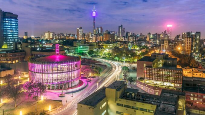 My Kind of Place, Johannesburg