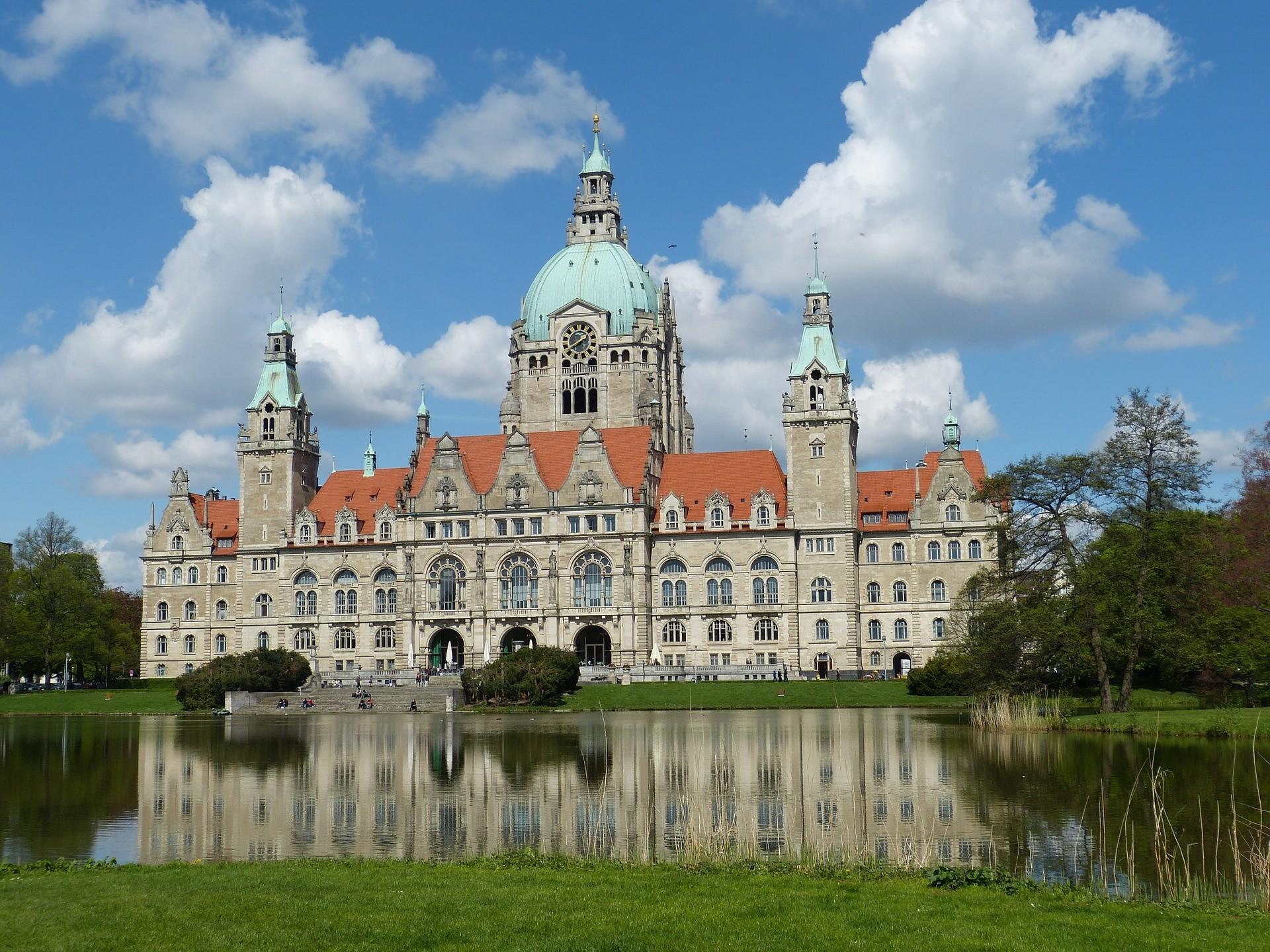 Municipio di Hannover - Foto di falco