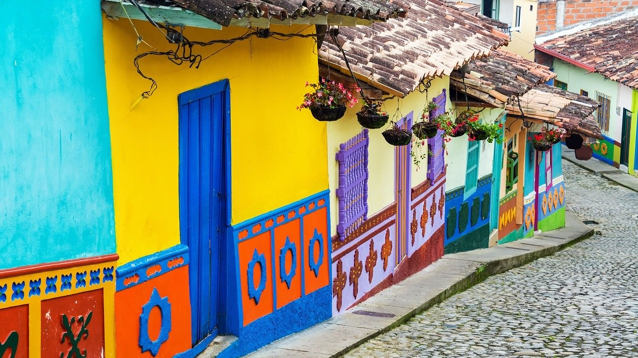 Case pittoresche di Bogotà in Colombia - Foto di gustavo9917 da Pixabay