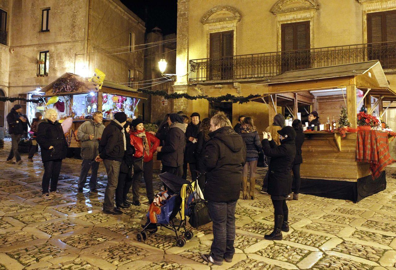 Mercatini di Natale Erice, Sicilia