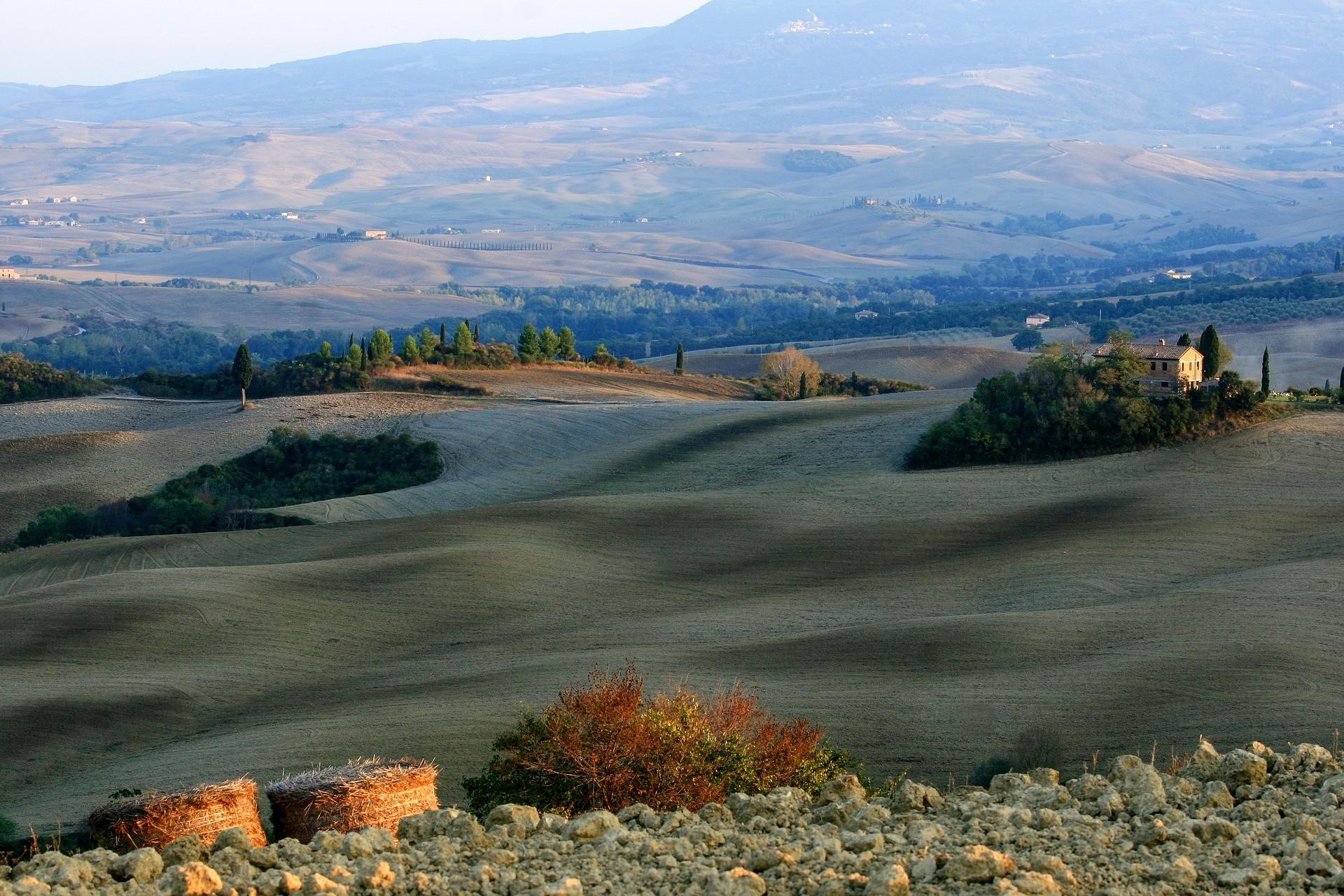 Paesaggio della Toscana - Foto di Klaus Stebani da Pixabay