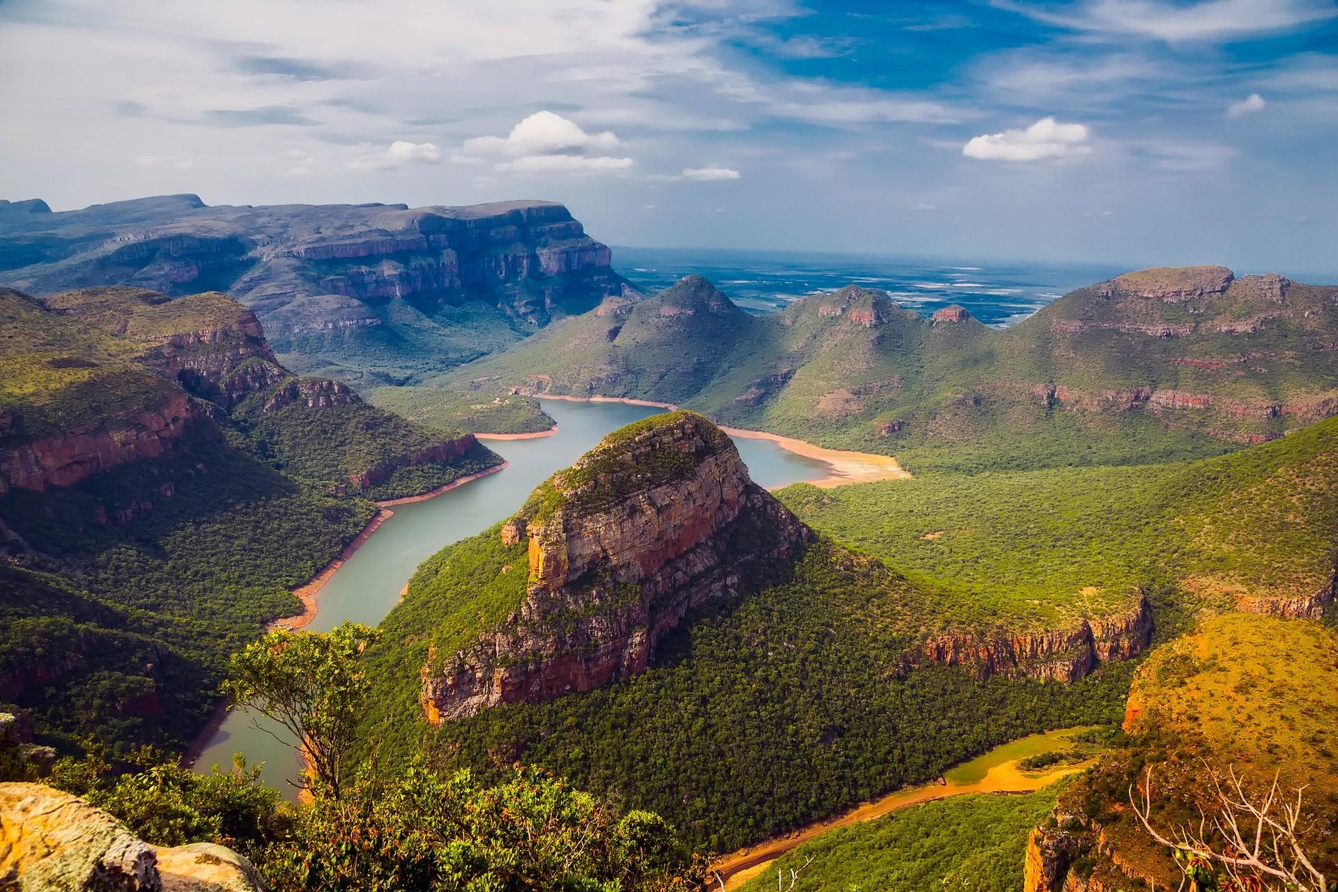Paesaggio del Sud Africa - Foto di David Mark da Pixabay