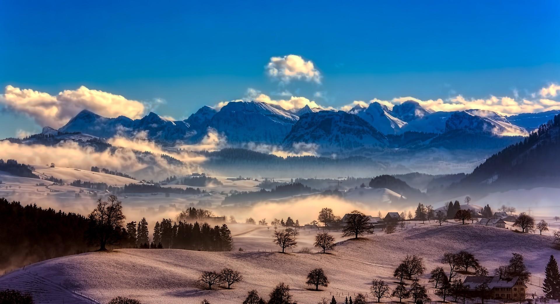 Paesaggio della Svizzera - Foto di David Mark da Pixabay