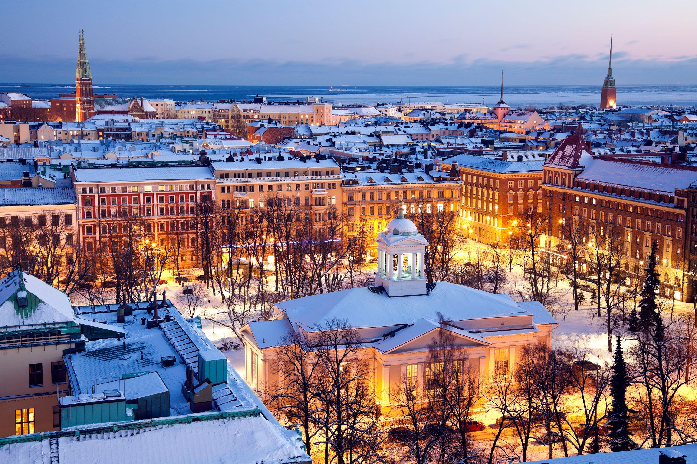 Helsinki in inverno