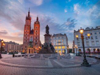 Piazza Rynek Główny, Cracovia