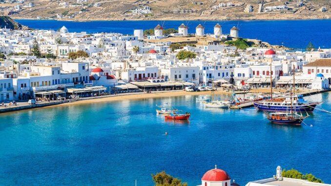 Mykonos, nelle Cicladi - Grecia