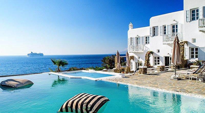 Resort a Mykonos, Grecia