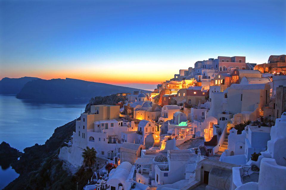 Santorini, Clicladi - Grecia