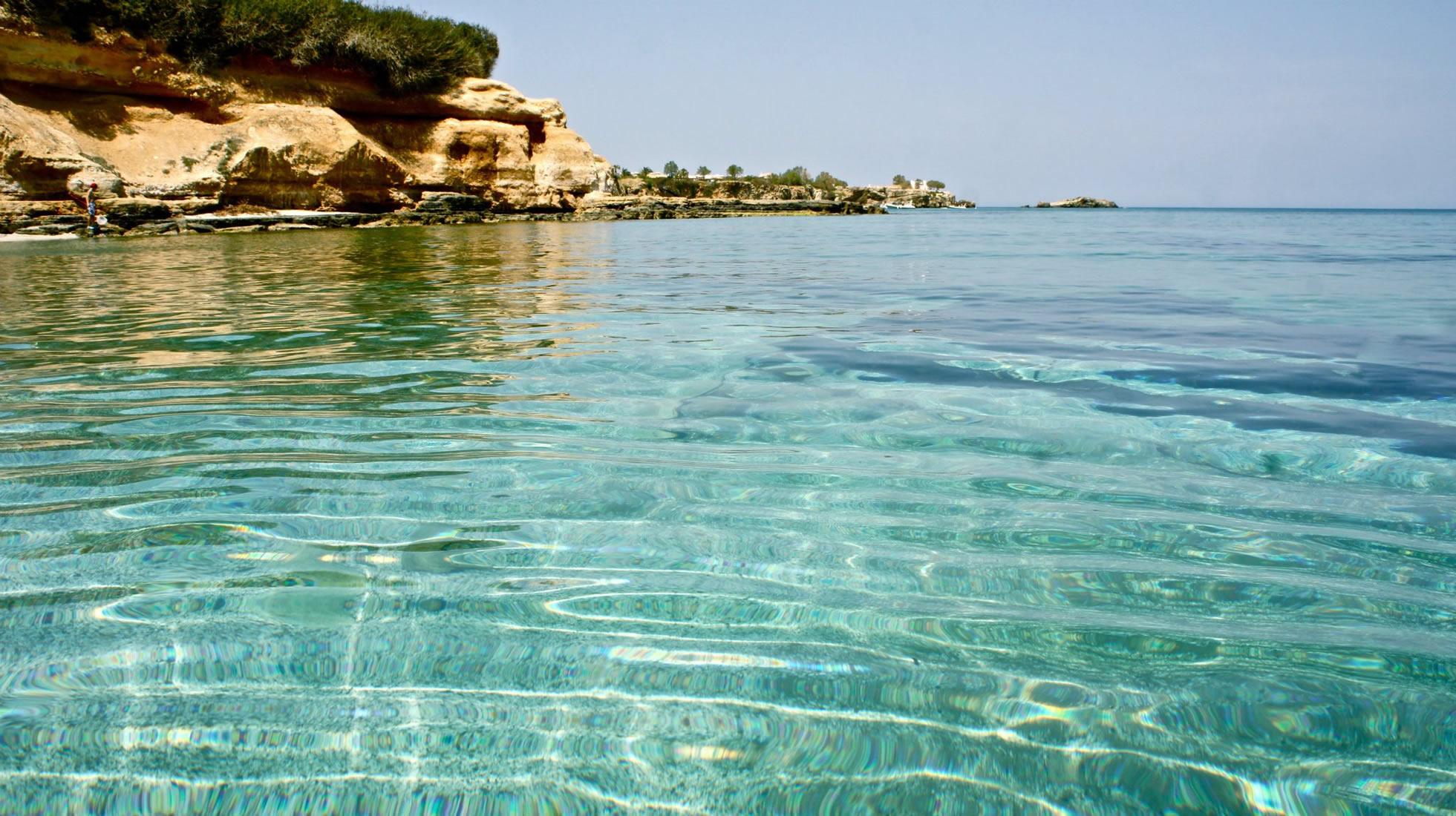 Splendide acqua di Creta, Grecia
