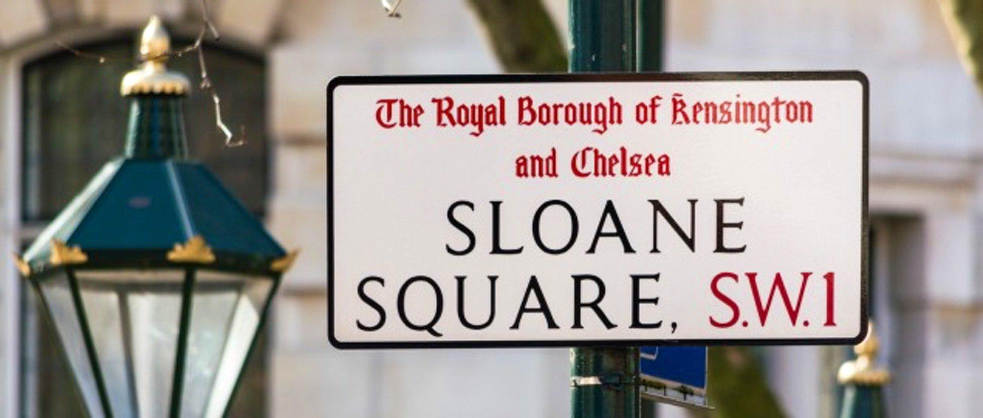 Sloane Square, quartiere di Chelsea a Londra