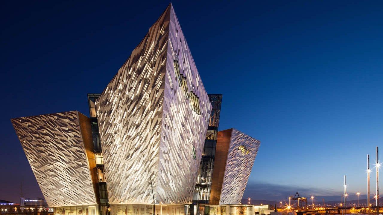 "Museo ""Titanic Belfast Experience"", Irlanda del Nord"