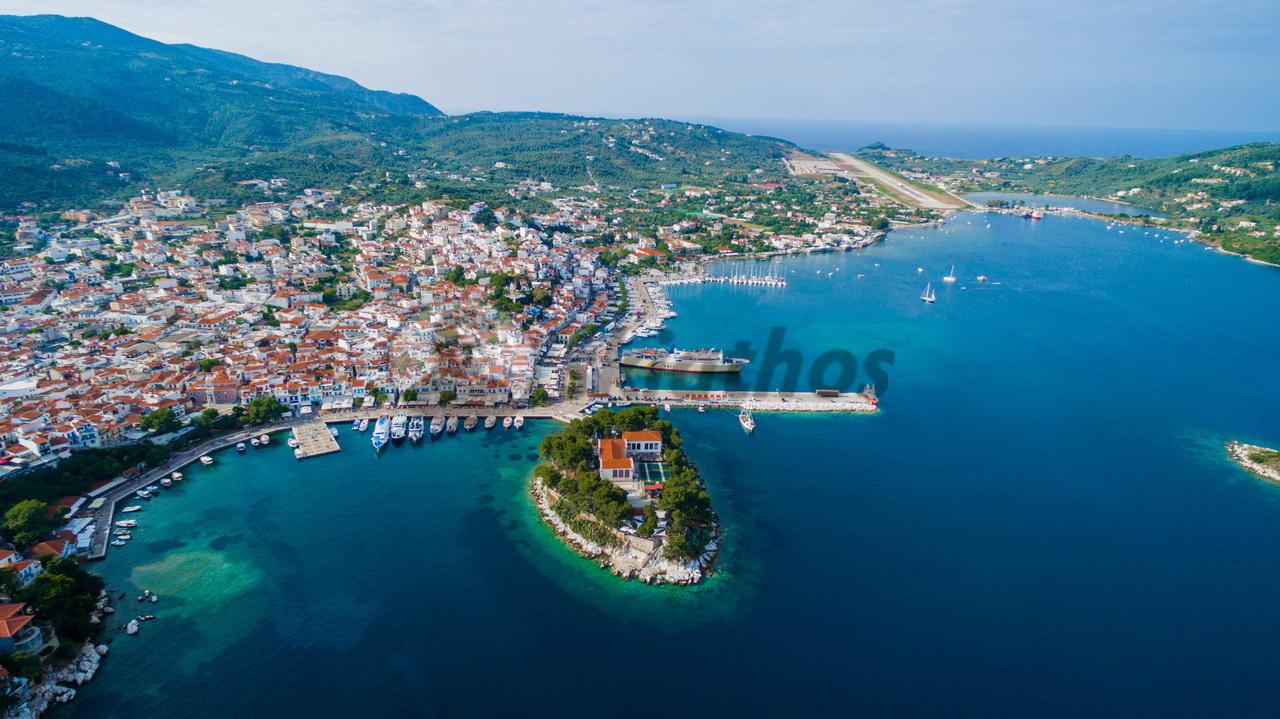 Skiathos, isola greca delle Sporadi