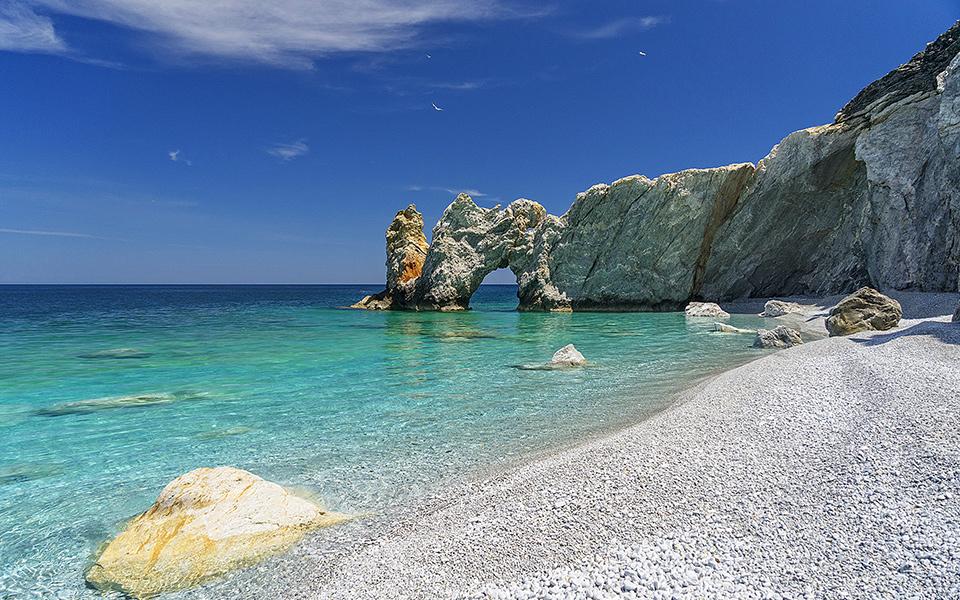 Spiaggia Skiathos, Grecia