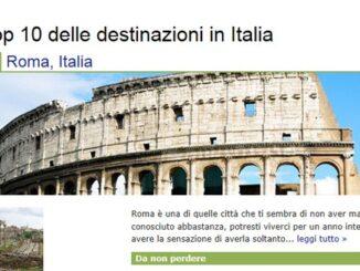 Destinazioni Italia