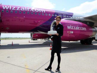 Wizz Air, un aereo della compagnia ungherese