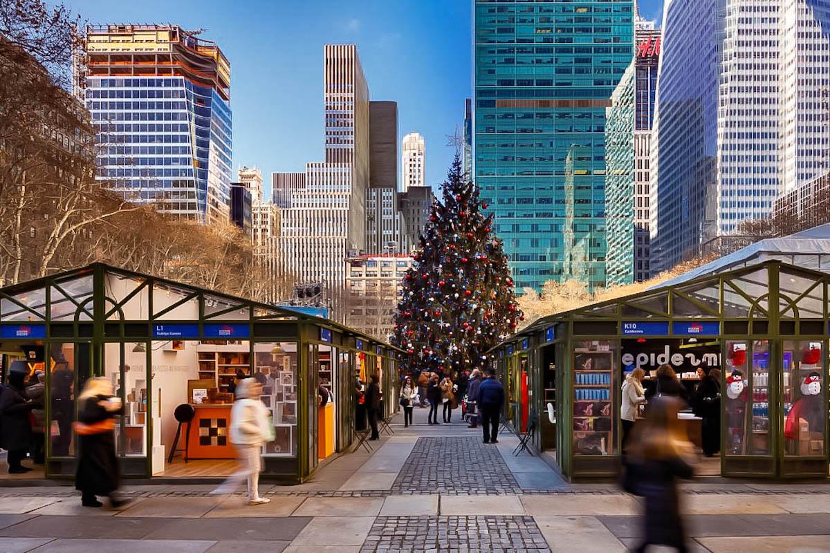 New York, Mercatini di Natale