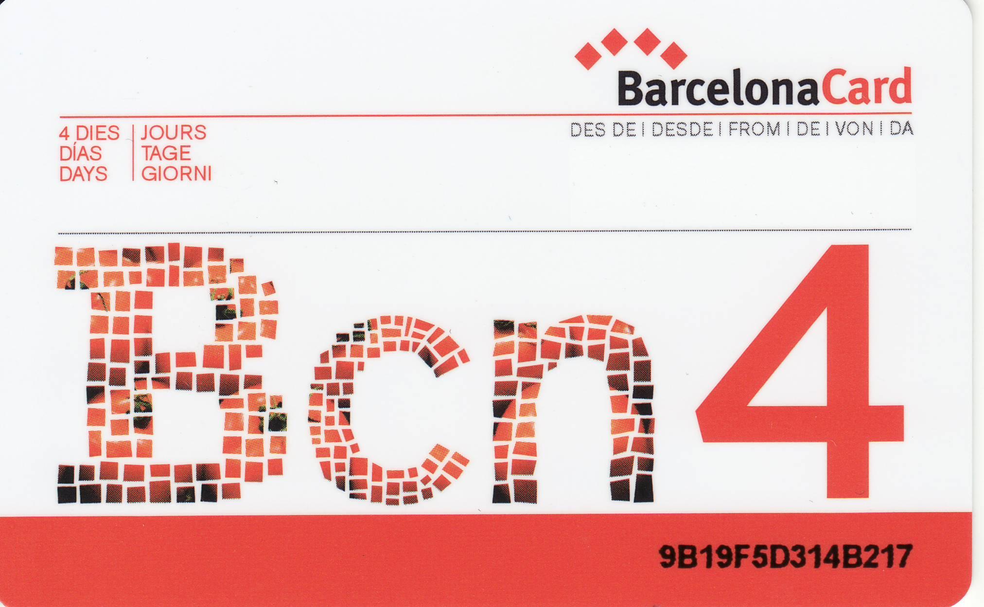 Barcellona Card