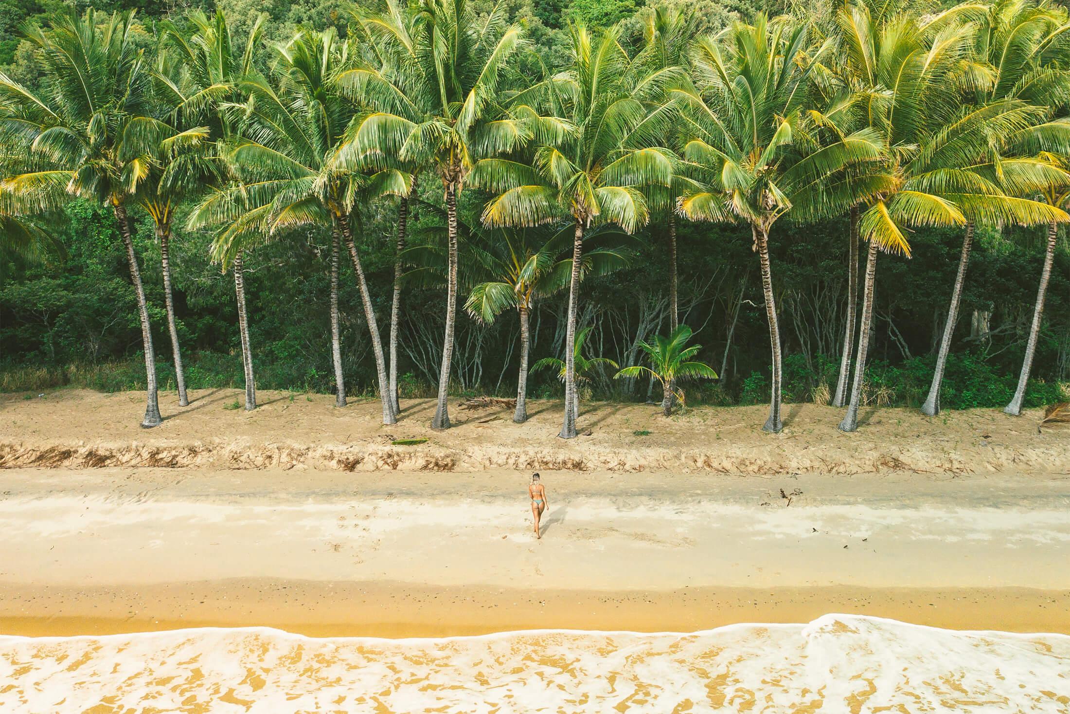 Ellis Beach Cairns, Australia - Foto Tourism Tropical North Queensland
