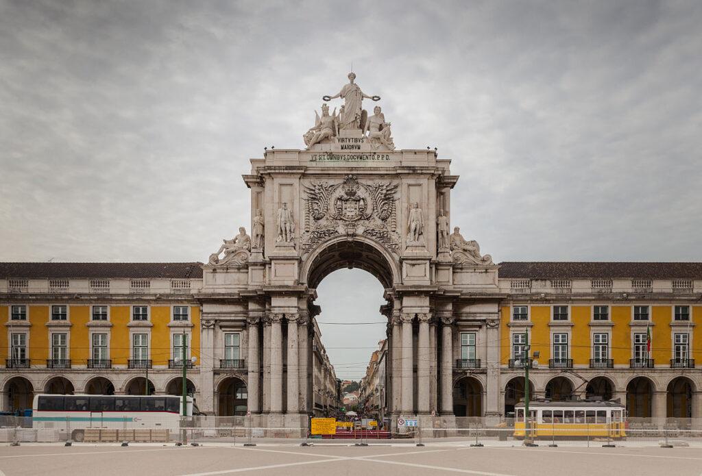 Arco da Rua Augusta, Lisbona