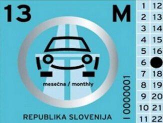Bollino autostradale Slovenia