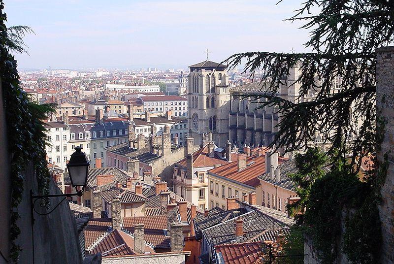 Lione, scorcio della città francese
