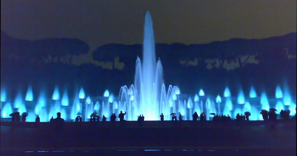 Fontana dell'Esedra a Napoli
