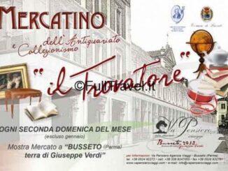 Mercatino dell'Antiquariato Musicale Il Trovatore a Busseto, Parma