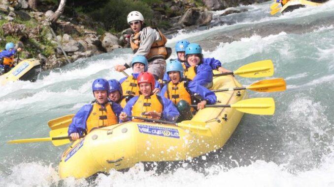 rafting trentino valdisole