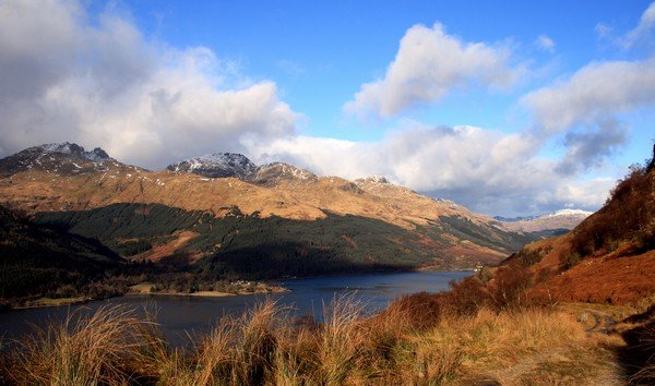Arrochar Alps - Foto© John Urquhart, Lomond Guides