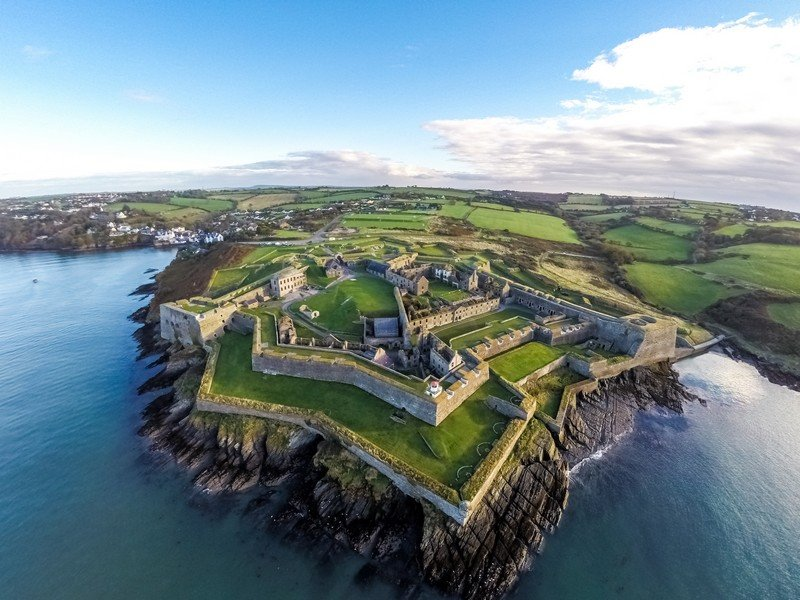Charles Fort - Foto© Raymond Fogarty, www.aircamireland.ie